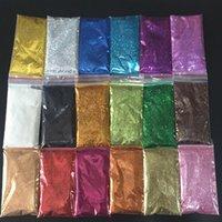 Tırnak Glitter 16 Renk 1 KG 1000g Toptan Sparkly Toz Toplu Epoksi Reçine Kalıp Dolum 0.3mm Telefon Kılıfı Sanat Pet Sequins