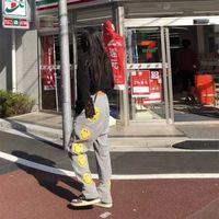 Kapital ASAP Smiley Rocky Visage Hirata et Honggao Street Pantalon de sport occasionnel Pantalons pour hommes et femmes 75zj