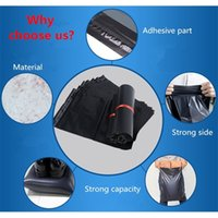 50pcs Black Plastic Envelope Bag Self-sealing Adhesive Courier Poly Mailer Clothes Shoes Shipping Mailing Packaging Pouches Y0712