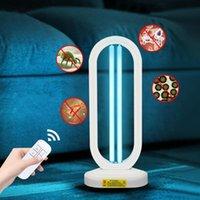 Outras lâmpadas de iluminação Tubos 30W 40W 50W Lâmpada de quartzo 110V 220V E27 T5 Tubo UVC LED Bulbo Home Cozinha Quarto Timer Timer Tabela Ultravióole