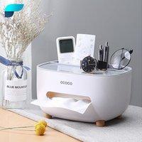 Titulares de papel higiênico Peisi banheiro armazenamento de armazenamento caixa titular cozinha secretária caso organizador de sala de estar