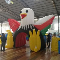 Bald Eagle Theme Archway tunnel Cartoon Character Advertising Inflatable Gate Arches entrance from China Reliable Supplier