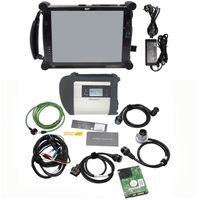 Ferramentas de diagnóstico 2021 est STR MB C4 SD Connect Compact 4 WiFi HDD V2021.06 Vender com Tablet PC EVG7 DL46 HDD500GB / DDR2GB DHL