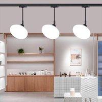 Downlights 36W LED Parça Baş Aydınlatma Modern Duvar Raylı Tavan Spot Işık Aksan Görev Sanat Sergisi için Entegre Işık