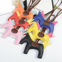 Padded pony hand rope pendant key chain business gift bag hardware accessories0304