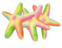 Squishies اللعب بالجملة kawaii نادر جامبو الملونة نجم البحر بطيئة اسفنجي الاطفال لعبة هدية المعطرة squezee