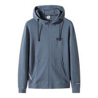Herren Hoodies Modedesigner Frühlingsmast Plus Größe Casual mit Kapuze Gestrickte Jacke Fat Cardigan Sweatshirts Perfekt für Jeans und Hosen