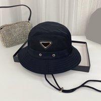 Мода Classic Brand Bucket Hat Складные Рыбацкие Шапки Унисекс Дизайнер Casquette Открытый Sunhat Пешие прогулки Восхождение Охотничьи Бич Рыболовные Шляпы Мужчины Нарисуйте струнную шапку