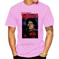 メンズTシャツマイケルジャクソンスリラーポーズ公式にライセンスされたTシャツの王
