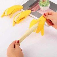 Descompressão Brinquedos Exóticos Descascados Milho Bananas Simulação Creativy Lala Le Vent Fruit Biltch para aliviar o tédio e tristeza Funny Vents