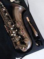 جديد مارك السادس تينور ساكسفون ساكس الأعلى المهنية الموسيقية الصورة الحقيقية مع المعبرة