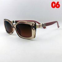 2021 جودة عالية أزياء خمر المرأة النظارات الشمسية المرأة العلامة التجارية مصمم إطار صغير السيدات نظارات مع الحالات وصندوق عيد الحب هدايا يوم 001