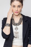 Earrings & Necklace Women's Fashion Jewelry Zeydor Black Authentic Stone Sets