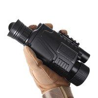 Imagio térmico monocular longo alcance caça câmera recarregável noite visão Âmbito com telescópios ponteiro laser