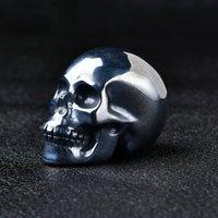 Sculpté Terehez Crâne Head Chakra Décoration Halloween Meditation Reiki cadeau