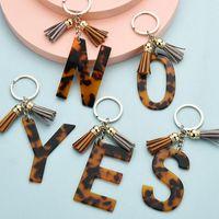 Mektup Kolye Anahtarlıklar Reçine Anahtar Zincirleri Yüzükler Kadınlar Için Sevimli Araba Akrilik Anahtarlık Tutucu Charm Çanta Çift Hediyeler