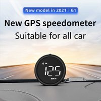 Universal GPS Speedometer Multi Function GPS Head Up Display For Car Truck Motorcycle Bike Boat Car HUD RPM MPH KM h Speed Alarm