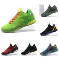 2021 Mamba Preta Moda BHM Proto 6 5s Kb6 Mens Sapatos de Basquete 6s Pense Cor-de-rosa Triple del Sol Grinch Men Treinadores Ao Ar Livre Esportes Sneakers