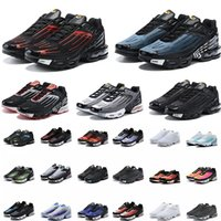 TN 3 망 체육관 신발 색상 트레이너와 함께 타이오 루스 chaussures 트리플 화이트 블랙 하이퍼 블루 그린 og 네온