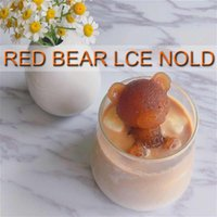 3D Bear Mold Silicone Soap Candle Molds Bar Ice Cube Tray DIY Ice Maker Ice Maker Whiskey Wine Decoration Kitchen Tools Accessories