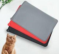 Kennels Stifte Hund Fütterung Tischsat Haustierschale Trinkmatten Katze Pad Kissen Silikon Wasserdichte Anti-Skid Anti-Sprinkling
