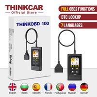 ThinkCar Thinkobd 100車のスキャナー診断ツールすべてのOBD2機能DTCルックアップVINライブデータリセットエンジンライト診断