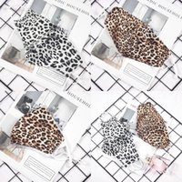 Fashion Leopard Print Face Designer Mask Adult Dustproof Washable Reusable Mouth Masks Unisex Cycling