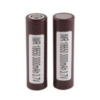 Original 18650 Batterie LG HG2 2500mAh 3.6V Hohe Ablaufbatterien passen EZIG