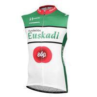 2021 летние дышащие мужские велосипедные джерси эускади команда без рукавов велосипедная рубашка MTB велосипед жилет гоночная одежда спортивная форма открытый Sportswear Y21032909