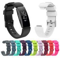 Silikon-Armband-Strap für Fitbit ACE 2 inspirieren HR-Strap-Ersatz weiche TPU-Sport-Armband-Zubehör