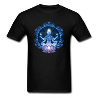 CCCCSPortMandala 루트 남성용 Muddha T 셔츠 2018 최고 품질의 유명한 브랜드 짧은 소매 티셔츠 순수 면화 둥근 칼라 티셔츠