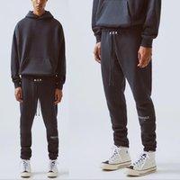 Essentiels Pantalon Hommes Femmes 2021 Haute Qualit Streetwear Hip Hop Baggy Pantalon de Survertement Femme de