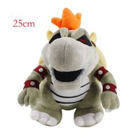 25cm Bowser Koopa Plush Stuffed Toys For Child Gifts