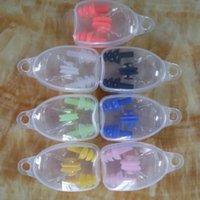 Nasenklammer weiche Silikon-Gummi-Schwimm-Ohrstecker-Clips Set wasserdichte synchronisierte Ohrstöpsel und für Wasserballett