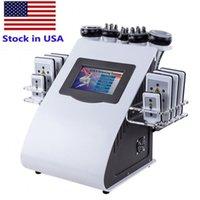 Alta Qualidade 40k Slimming 6 em 1 Tratamento Ultrassônico Vácuo Rádio Frequência Máquina Laser para Equipmentos de BelezaPa