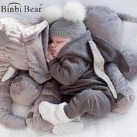 Binbi Медведь Новая Младенческая Одежда Рожденная Детская Зимняя Ромпер Мальчики Одежда Осень Весна Новорожденный Для Девочек Комбинезон Карнавал 0-3 года Костюм