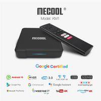 Mecool KM1 ATV Amlogic S905X3 Android 9.0 TV 박스 4GB RAM 32GB 64GB ROM WIFI 4K HD Google Set Top