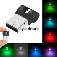 Mini USB Car Foot Light Plug And Play LED Atmosphere Light Car Accessory PC Auto Interior Emergency Lighting