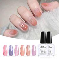 Nail Art Kits Elite99 6 pcs / 3 pcs glitter UV gel polonês conjunto de rosa lantejoulas vernis semi permanente kit esmalte led verniz