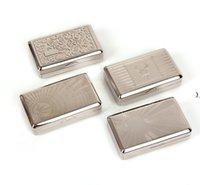 10 * 6.15 * 2.65cm Novo Pocket Thinplate Fabricante de Cigarros Rolo de Cigarros Caixa Caixa Caixa De Cavalo Charuto Fumo Fumar Moedor HWF9322