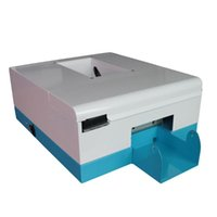 Printers TOPPARTS 2021 Inkjet Card Printer With 1 Set Pigment Ink PVC Cards Xcellent System 2.0.0C