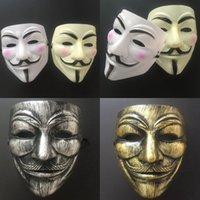 V máscara de halloween face feia masquerade máscara vendetta anônimo cara festa cosplay máscaras de terror cyz3032