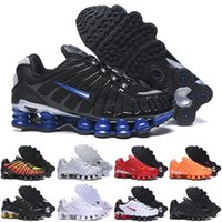 Eğitmenler Sho TL Erkekler Koşu Ayakkabıları Üçlü Siyah Altın Gri Kil Turuncu Gündoğumu Hız Kırmızı Bayan Moda Spor Sneakers Boyutu 36-46