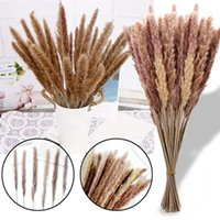 15Pcs Dried Decoration Flowers Vases Bouquet Boho Decorative Branches Natural Artificial Fake Plants Party Home Decor & Wreaths