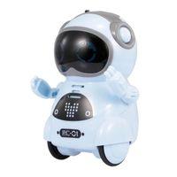 الذكية التحكم في المنزل ذكي مصغرة جيب الروبوت المشي الموسيقى الرقص ضوء التعرف على الصوت كرر لعبة الاطفال التفاعلية