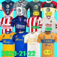Liga MX 2021 2022 Tigres Unam Gignac Club America Soccer Jerseys Giovani 20 21 22 Camisetas 115th Chivas 115 Jahre Jersey O.Peralta Football Hemden