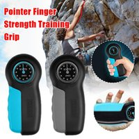 Ręcznie Uchwyty Siła Trener Uchwyty Wrist WeNDener Dynamometer Grip Power Meter siła 121LB / 55 kg