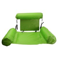 Life Vest & Buoy Air Mattress Swimming Pool Outdoor Entertainment Float Lounge Adjustable With Backrest Safe Water Bed Inflatable Hammock Fo