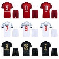 2021-22 Club FC Soccer 32 Joshua Kimmich Jersey Set 8 Leon Goretzka 19 Alphonso Davies 29 Kingsley Coman 24 Corentin Tolisso Hernandez الرجال قميص كرة القدم أطقم Bairen