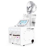 Mutilfunction H2O2 الأكسجين هيدرا سبا آلة أكوا الوجه ل blackhead مزيل التجاعيد إزالة حب الشباب
